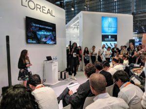 L'Oréal fait l'annonce de nouvelles innovations liées à l'intelligence artificielle lors de l'édition 2018 de VivaTech